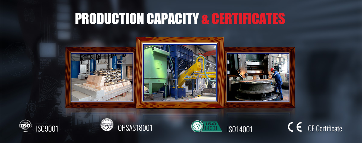 Production Capacity & Certificates